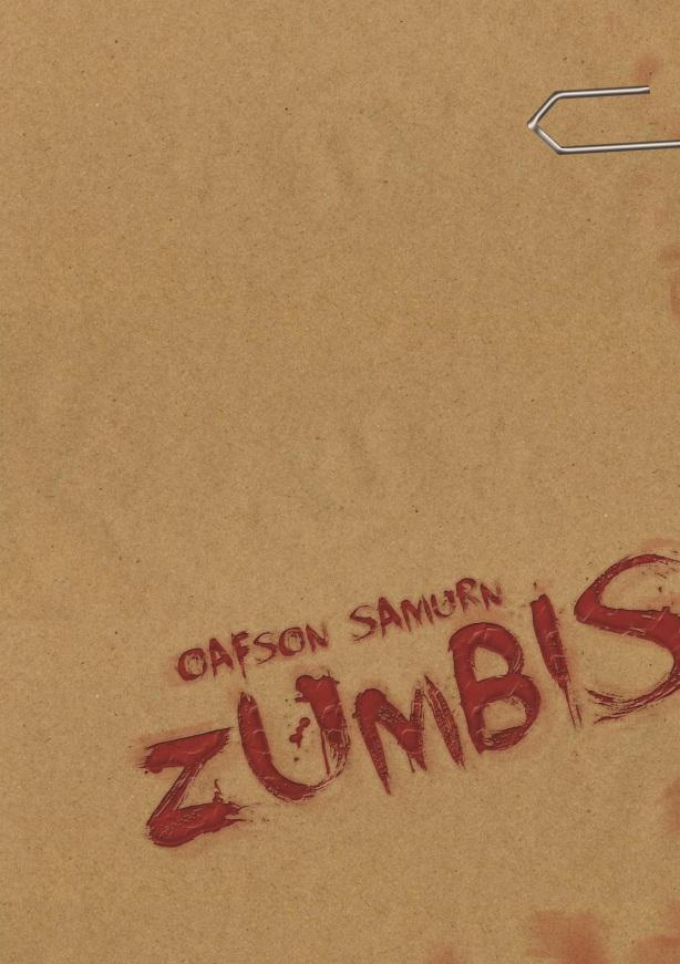 Capa do Livro Zumbis